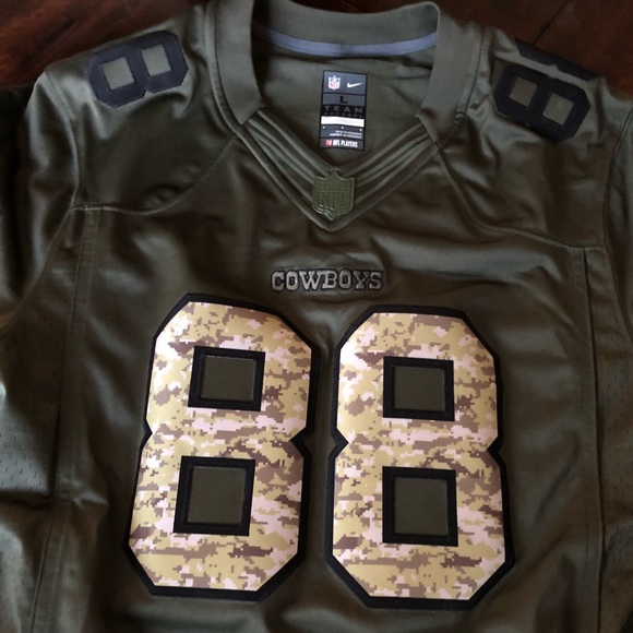buy popular 81973 6eb93 Dallas Cowboys Dez Bryant Nike Salute to Service